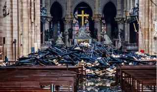 Nửa tỷ USD đã được quyên góp để khắc phục vụ cháy Nhà thờ Đức Bà Paris