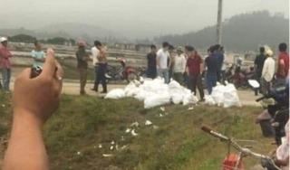 Công an Nghệ An thông tin về một tấn ma túy đá bị vứt ngoài đường
