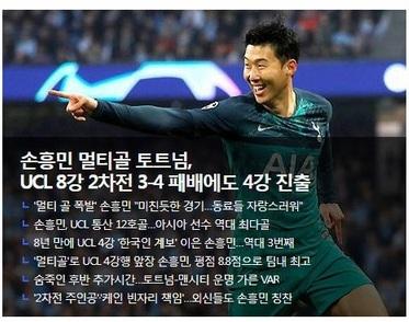Báo chí Hàn Quốc đã đồng loạt bày tỏ sự tự hào về Son Heung Min