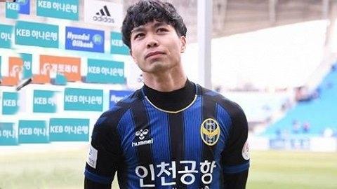 Tiền đạo Công Phượng chưa để lại nhiều dấu ấn tại K.League