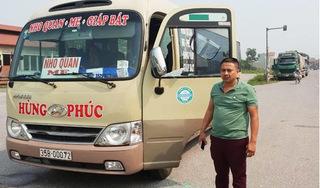 Hà Nam: Tài xế xe khách bị nhóm người lạ mặt chặn đánh, đập kính xe