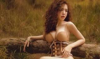 Elly Trần nóng bỏng, sexy giữa núi rừng bao la