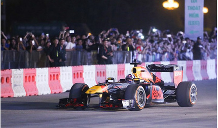 Vé xem F1 ở Hà Nội có giá từ 1,7- 9 triệu đồng