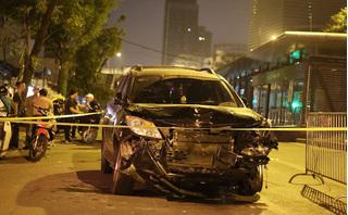 Danh tính người lái 'xe điên' đâm liên hoàn gây chết người ở đường Láng