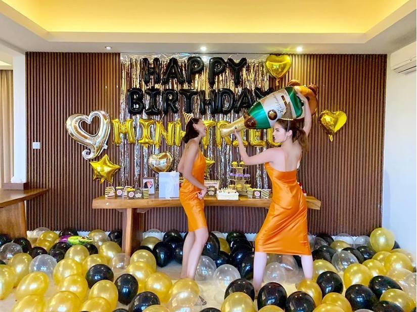 Tin tức giải trí 24h ngày 23/4/2019: Kỳ Duyên mặc đồ đôi tổ chức sinh nhật cho Minh Triệu tại Bali
