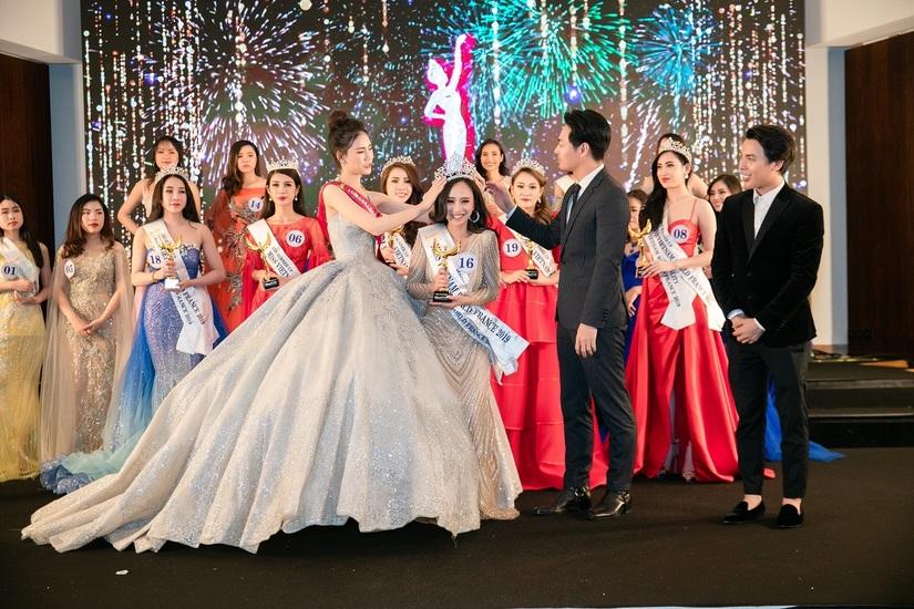 Nhan sắc cực phẩm của Hương Trà – Cô gái vừa đăng quang Hoa hậu thế giới người Việt tại Pháp