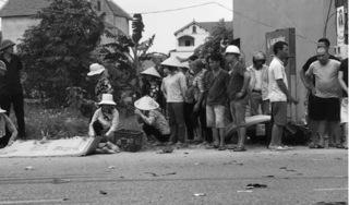 Hưng Yên: Va chạm với xe tải, người đàn ông đi xe máy tử vong tại chỗ