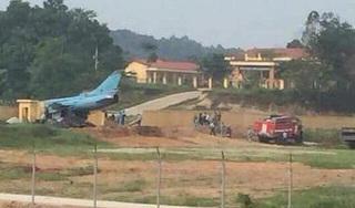 Máy bay Su-22 gặp sự cố ở Yên Bái, phi công nhảy dù an toàn