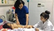 Thêm một cháu bé Hà Nam bị chó cắn gây thương tích nặng ở mặt