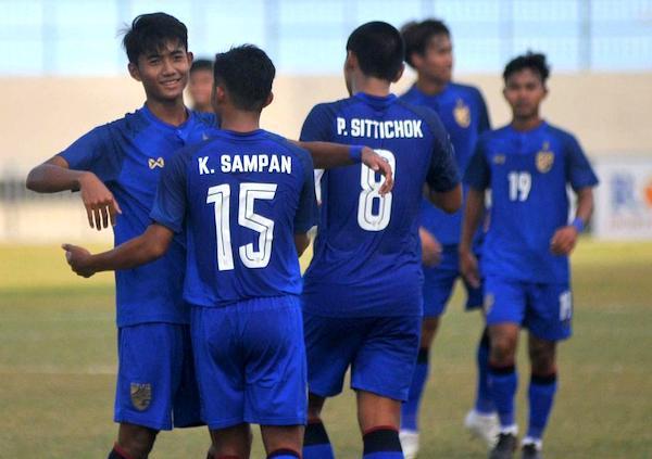 U19 Thái Lan tập trung chuẩn bị cho giải vô địch giải ĐNA 2019