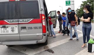 Xác định chủ xe dù ném hành lý, đuổi khách xuống đường