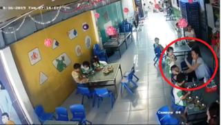 Đã xác định được cơ sở mầm non có bảo mẫu đánh trẻ trong bữa ăn
