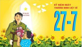 Chính thức đề xuất ngày 27/7 là ngày nghỉ lễ trong năm