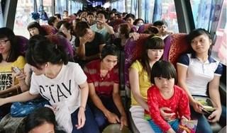 Nhiều xe khách nhồi nhét, tự tăng giá vé bị xử lý sau kỳ nghỉ lễ 30/4 - 1/5