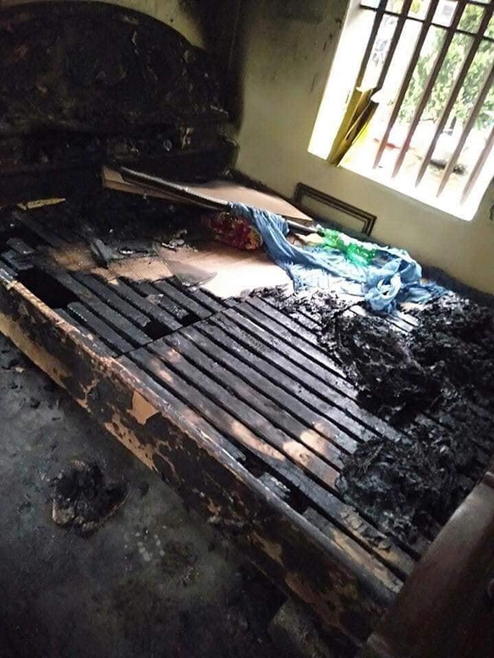 Hà Nam: Người phụ nữ phóng hoả đốt nhà trong đêm khiến 2 bố mẹ bị thương2