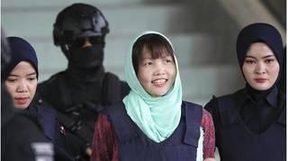 Đoàn Thị Hương rời khỏi nhà tù bang Selangor và về Việt Nam vào tối nay