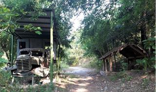 Hoang phế khu tái hiện di tích lịch sử 1.3km đường Hồ Chí Minh