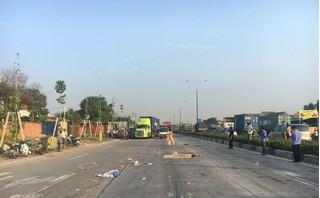 Người đàn ông tử vong bất thường trên đường, nghi bị ô tô tông