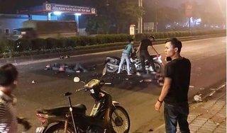 Vụ xe máy kẹp 3 gây tai nạn: Một cán bộ cảnh sát cơ động đã tử vong