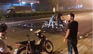 Đuổi theo xe vi phạm, hai cảnh sát cơ động bị tai nạn phải nhập viện