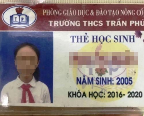 Nữ sinh lớp 8 ở Thanh Hóa mất tích được tìm thấy ở Cà Mau