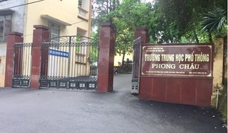 Vụ nam sinh bị đồn làm 4 bạn nữ mang thai: Báo cáo của Sở GD&ĐT Phú Thọ nói gì?