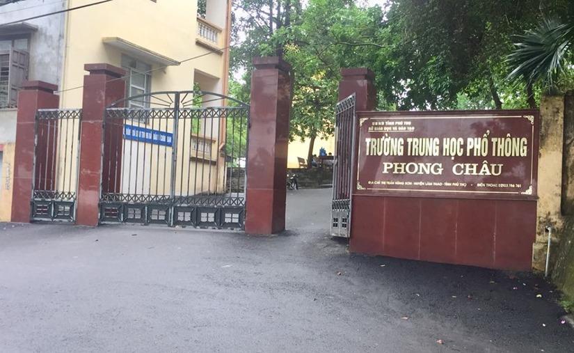 Trường THPT- nơi nam sinh bị đồn làm 4 bạn nữ mang thai đang theo học.