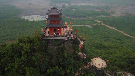Hình ảnh chùa Tam Chúc lung linh trước thềm Đại lễ Vesak 2019