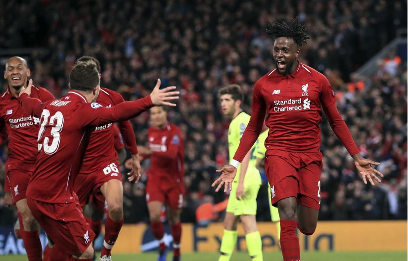 Có một tinh thần của Tân Hiệp Phát và Liverpool: Không bỏ cuộc để vượt lên người khổng lồ