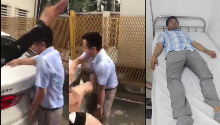 Vụ thầy giáo dạy lái xe bị đánh vì sờ đùi: Công an thực nghiệm hiện trường trong gần 2 tiếng