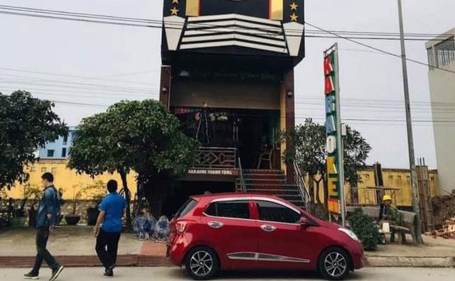 Quán karaoke nơi nam nhân viên bị đâm tử vong.