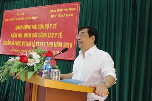Chăm sóc sức khỏe đại biểu Đại lễ Phật đản VESAK 2019 tại Hà Nam 2