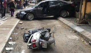 Tin tức TNGT ngày 10/5/2019: Xe biển xanh va chạm xe đạp điện khiến 2 mẹ con tử vong