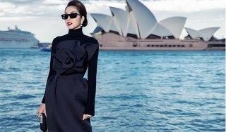 Tăng Thanh Hà thần thái 'chất ngất' giữa trời Sydney