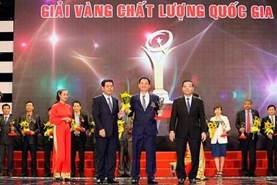 Thủ tướng tặng Giải Vàng Chất lượng Quốc gia cho Tân Hiệp Phát