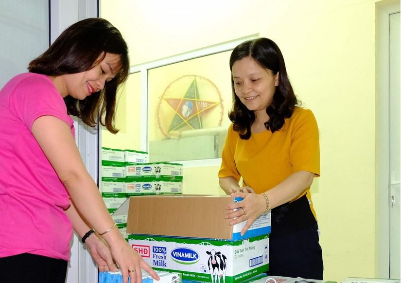 Lợi ích kép của chương trình sữa học đường Hà Nội 2