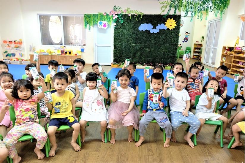 Lợi ích kép của chương trình sữa học đường Hà Nội 3