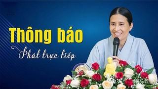 Trụ trì chùa Ba Vàng lên tiếng việc bà Phạm Thị Yến lại đăng đàn thuyết giảng