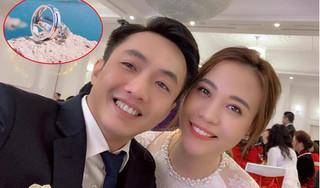 Đàm Thu Trang khoe cặp nhẫn cưới sang trọng, chuẩn bị cho hôn lễ với Cường Đô la