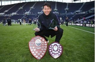 Son Heung-min giành cú đúp danh hiệu cá nhân cao quý