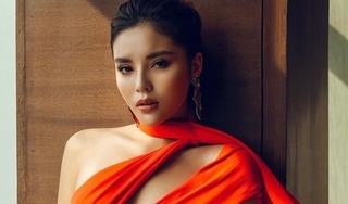 Bị chê 'vai u thịt bắp', Hoa hậu Kỳ Duyên tung bộ ảnh xinh đẹp đáp trả