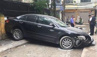Bất ngờ danh tính nữ tài xế xe Camry lùi xe tông chết người ở Thanh Xuân