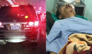 Sức khoẻ nạn nhân bị thượng sĩ công an lái xe biển xanh tông giờ ra sao?