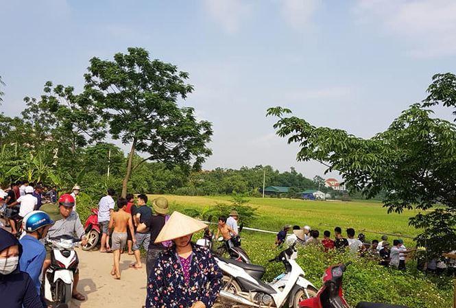 Hà Nội: Phát hiện nam thanh niên tử vong ngoài cánh đồng