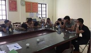 Hưng Yên: Bắt gần chục 'dân chơi' nghi sử dụng ma túy tại quán karaoke X-men