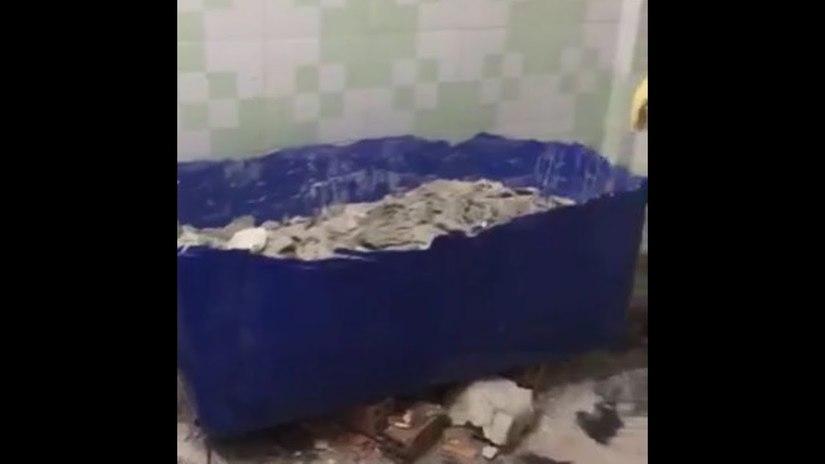 Truy tìm người tên Thanh thuê căn nhà phát hiện 2 thi thể đổ bê tông trong thùng nhựa