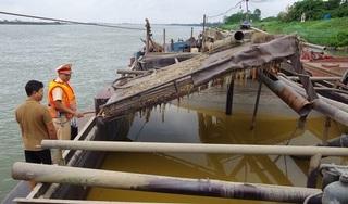 Công an Hưng Yên mật phục bắt nhiều tàu hút cát trái phép