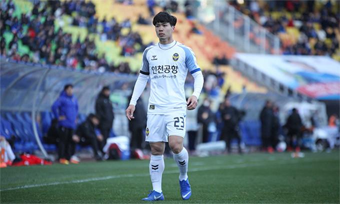 CLB Incheon để thua đáng tiếc trước Daegu ở vòng 13 K.League