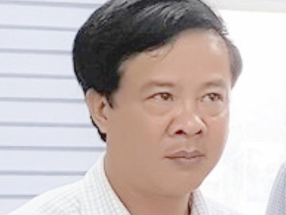 Nguyên cán bộ Ban tổ chức Tỉnh ủy bị bắt tạm giam để làm rõ hành vi lừa đảo chiếm đoạt tài sản. - Ảnh: CA Quảng Bình.