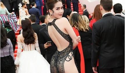 Ngọc Trinh chính thức lên tiếng về bộ váy hở bạo trên thảm đỏ Cannes